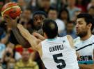Juegos Olímpicos Londres 2012: Estados Unidos vence a Argentina y jugará la final de baloncesto ante España