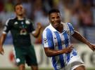 Liga de Campeones 2012/13: el Málaga gana 2-0 y encarrila la eliminatoria