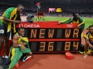 Juegos Olímpicos Londres 2012: Carter, Frater, Blake y Bolt oro y récord del mundo para Jamaica