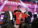 Javi Martínez ya luce como jugador del Bayern Munich