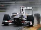 GP de Bélgica 2012 Fórmula 1: la lluvia sobre Spa hace inútiles los primeros libres