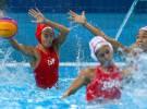 Juegos Olímpicos Londres 2012: las chicas del waterpolo a cuartos en primer lugar, los chicos a una victoria más