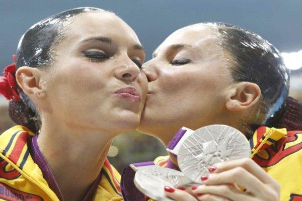 Ona y Andrea, la nueva pareja de plata de la sincronizada española