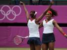 Juegos Olímpicos Londres 2012: Venus y Serena Williams conquistan el oro en dobles femeninos