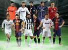 El once ideal de 2012 elegidos por los lectores de UEFA.com