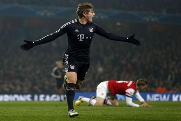 El Bayern pone contra las cuerdas al Arsenal