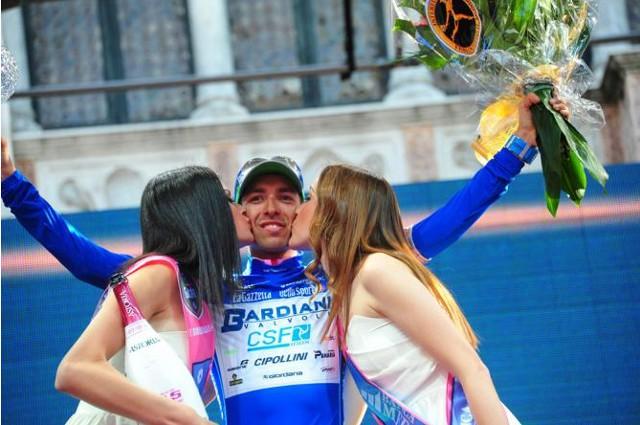 Pirazzi ganó la clasificación de la montaña en el Giro 2013