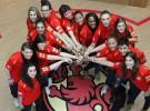 La selección española de baloncesto femenino preparada para el Eurobasket 2013