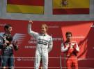 GP de Gran Bretaña 2013 de Fórmula 1: Rosberg gana por delante de Webber y Alonso, Vettel abandona