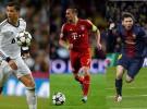 Ribery, Messi y Cristiano pelearán por ser el mejor jugador de la UEFA 2012-2013