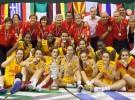 La U16 femenina también gana su Europeo este verano de 2013