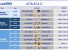 Liga Española 2013-2014 1ª División: horarios y retransmisiones de la Jornada 3