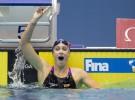 Mireia Belmonte bate el récord mundial de los 400 libres en piscina corta
