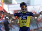 Vuelta a España 2013: Roche gana y Nibali es el nuevo líder