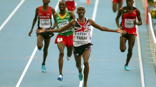 Farah es el nuevo campeón del mundo del 10 mil