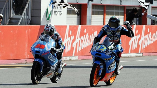 Alex Márquez logra su primera victoria en Moto3
