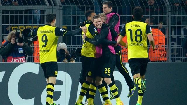 El Borussia Dortmund se mantiene vivo en la Champions