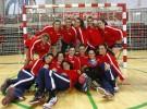 La selección española de balonmano femenino se prepara para el Mundial de Serbia 2013