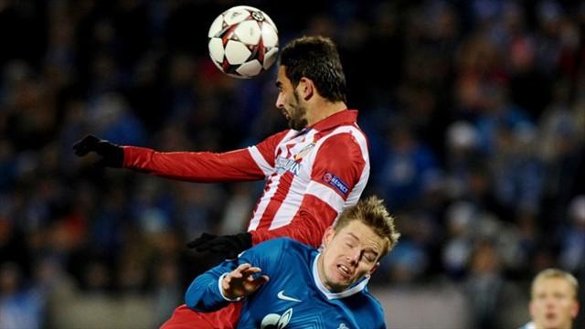 El Zenit cortó la buena racha del Atlético de Madrid