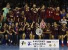 El Barça gana la Copa ASOBAL de 2013