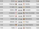 Liga Española 2013-2014 1ª División: horarios y retransmisiones de la Jornada 17