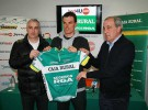 El equipo ciclista Caja Rural presenta a su fichaje estrella: Luis León Sánchez