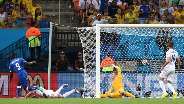 El gol de Balotelli dio la victoria a Italia ante Inglaterra