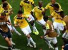 Mundial de Brasil 2014: Colombia a octavos, Inglaterra casi fuera