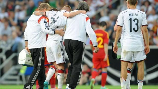 Reus se pierde el Mundial por lesión de última hora
