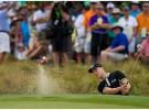 US Open Golf 2014:  Martin Kaymer lidera, Sergio García único español que pasa el corte
