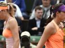 Roland Garros 2014: Sharapova y Bouchard ponen fin al sueño de Muguruza y Suárez Navarro