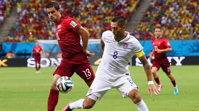 Estados Unidos deja contra las cuerdas a Portugal