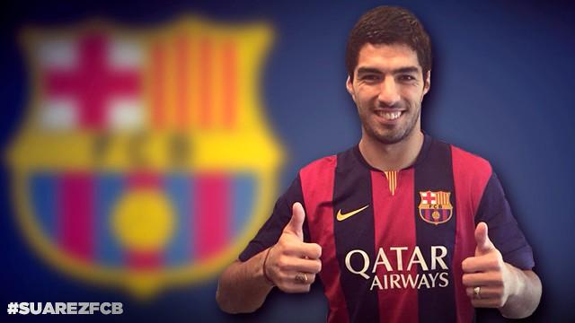 Luis Suárez es el último fichaje estrella del Barcelona