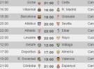 Liga Española 2014-2015 1ª División: horarios y retransmisiones de la Jornada 5