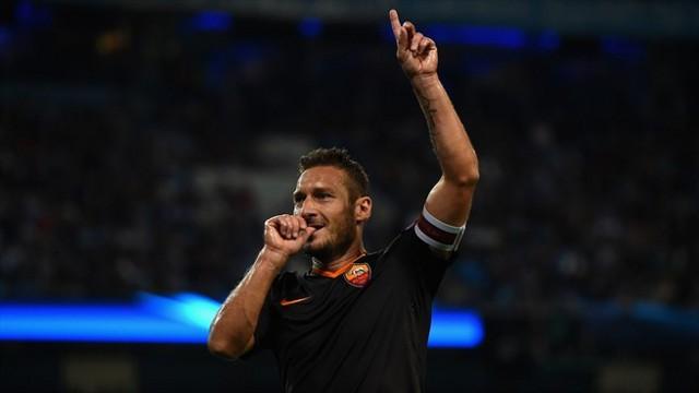 Totti sigue batiendo récords con la Roma