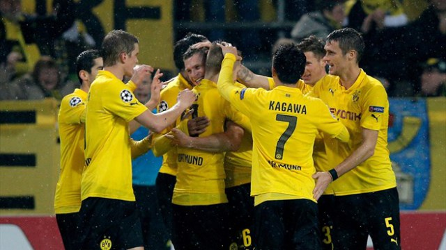 Borussia estará en octavos de final de la Champions