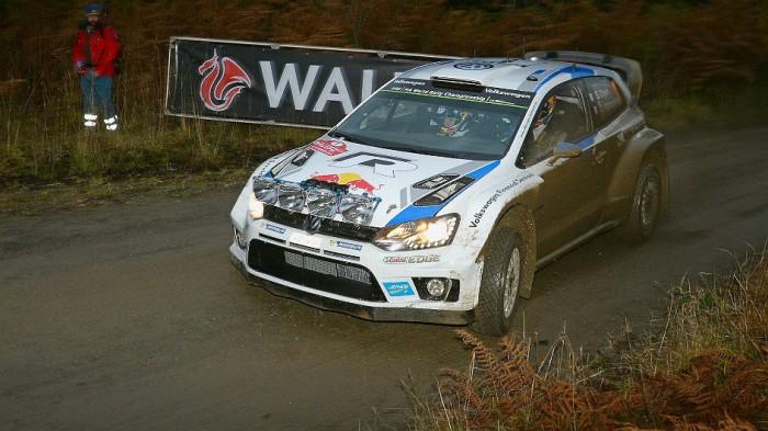Sebastien Ogier en el Rally de Gales