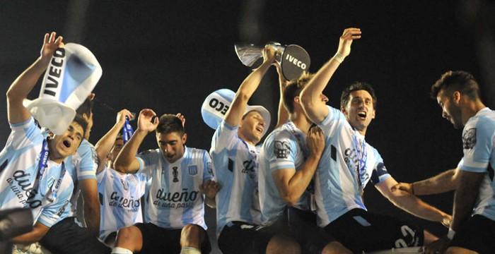 Racing ganó un título de liga 13 años después del último
