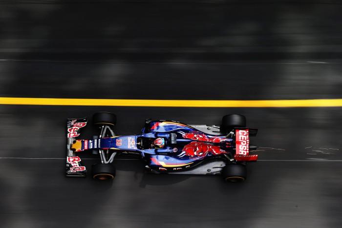 Carlos Sainz en la carrera de Monaco