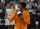 Masters de Roma 2015: Novak Djokovic y Maria Sharapova campeones ganando a Roger Federer y Carla Suárez
