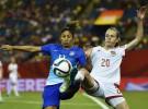 Mundial de fútbol femenino 2015: España cae ante Brasil y se jugará todo contra Corea