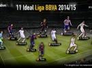 Liga Española 2014-2015 1ª División: el once ideal de la temporada