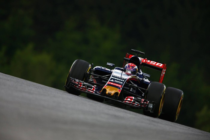 Toro Rosso en Austria