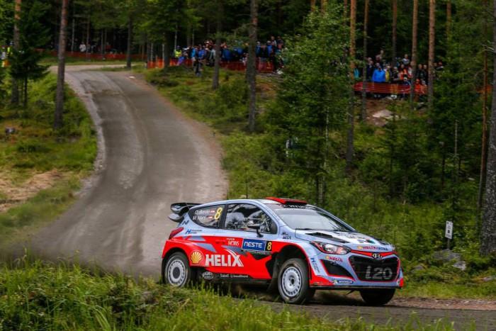 Dani Sordo en Finlandia