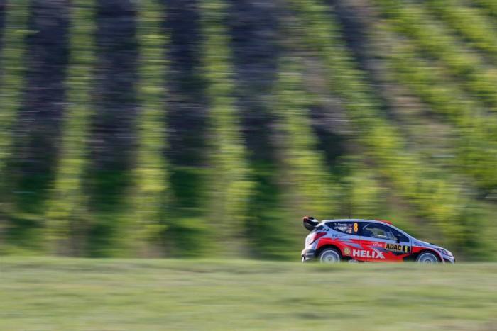 Dani Sordo en el Rally de Alemania