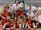 Oro para la U18 en el Europeo femenino de 2015