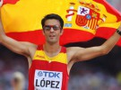 Mundial de Pekín 2015: Miguel Ángel López, campeón del mundo de 20 kilómetros marcha