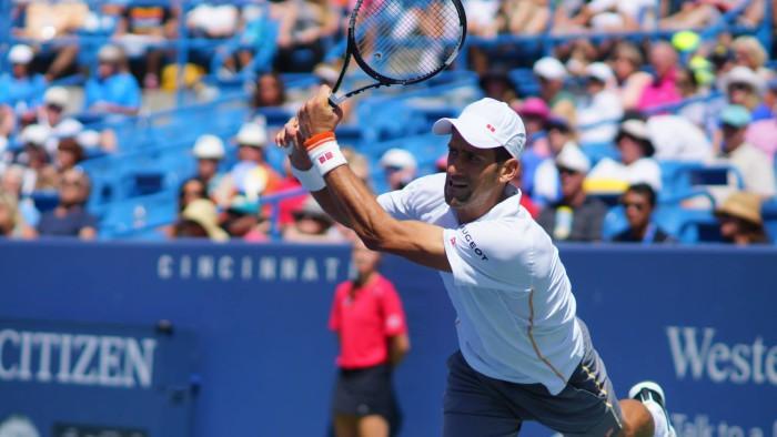 Novak Djokovic en Cincinnati