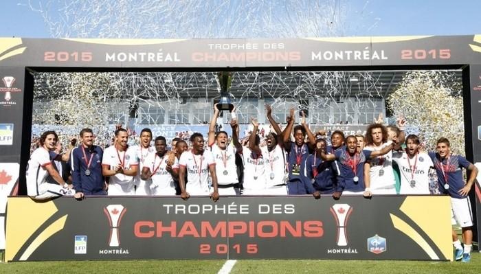 El PSG gana por quinta vez en su historia la Supercopa de Francia