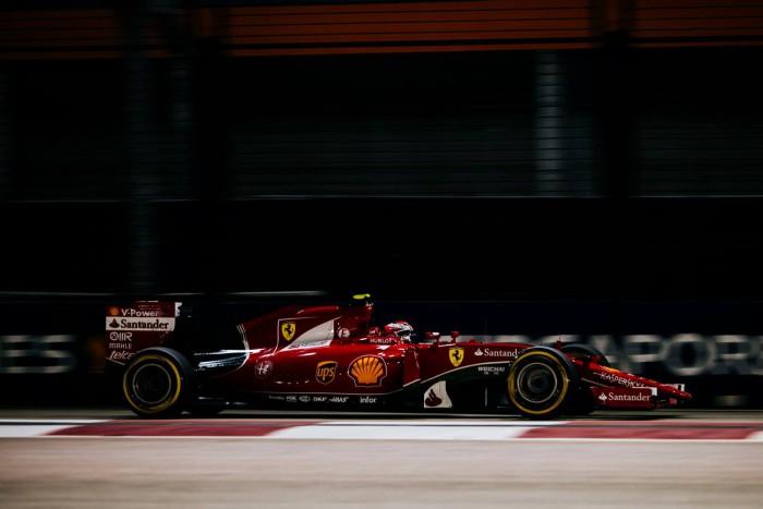 Ferrari en el GP de Singapur
